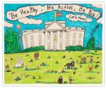 2014 Easter Egg Roll Poster