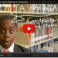 A Pep Talk for Teachers and Students| From Kid President