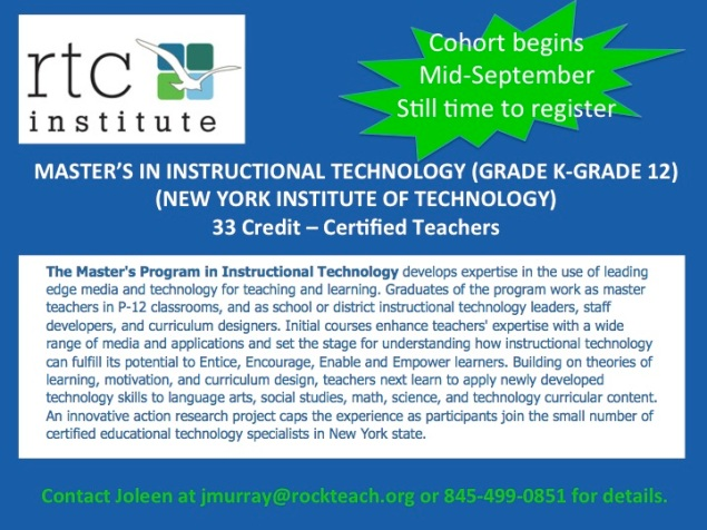 Rockland Teachers Center - New York Institute of Technology