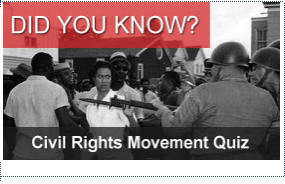 Do you know? Civil Rights Movement Quiz