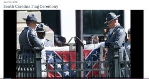 South Carolina Flag Ceremony