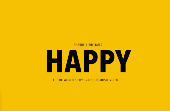 Pharrell Williams Happy